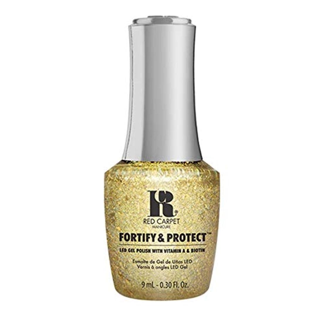 牧師期限謎Red Carpet Manicure - Fortify & Protect - Glittering Like A Star - 9ml / 0.30oz