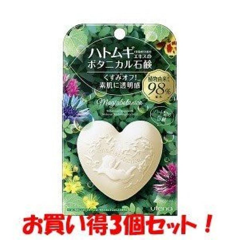 専門知識虹飛ぶ(ウテナ)マジアボタニカ ボタニカル石鹸 100g(お買い得3個セット)