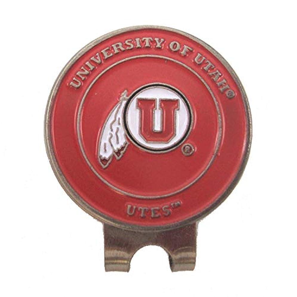 評議会憤るオーストラリア人Utah Utes NCAAゴルフ帽子クリップと両面ボールマーカー