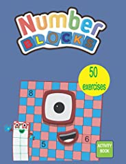 Numberblocks Activity Book: Numberblocks Addition & Subtraction WorkBook, 50 Activity Book for