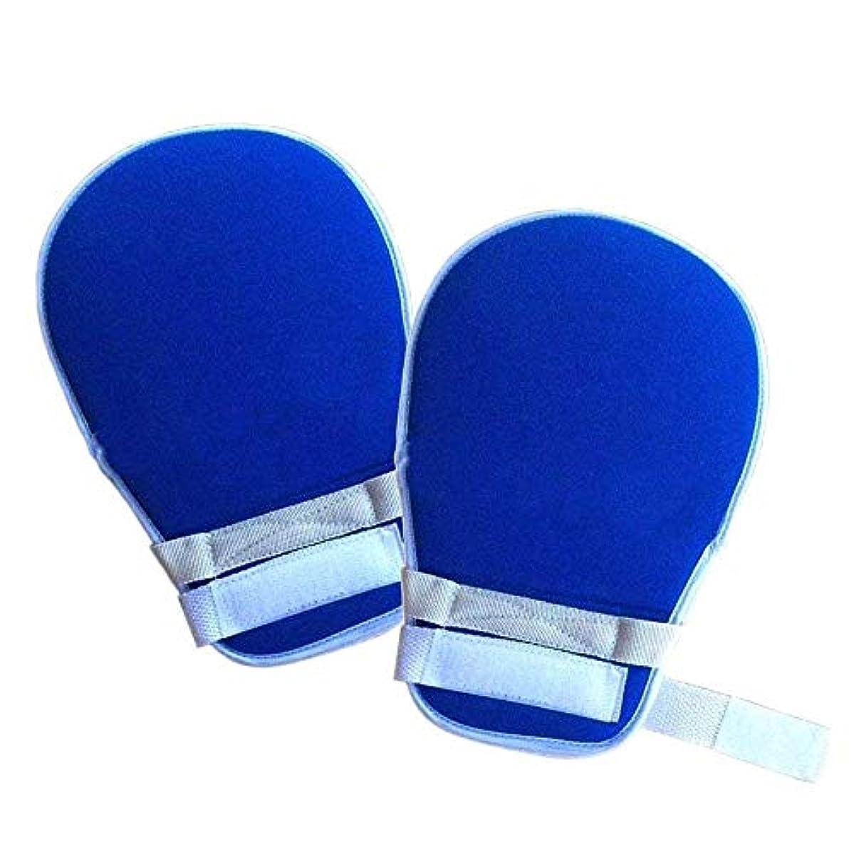 成熟ピンポイント言い直すコントロールミット - 手の保護手袋が自傷を防止 - 高齢者認知症用安全拘束手袋(1ペア)