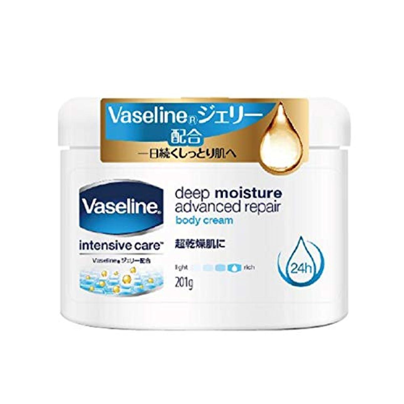 傾く商品ビタミンヴァセリン アドバンスドリペアボディクリーム 201g