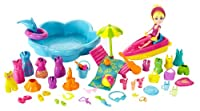 Polly Pocket Beach Blowout Playset