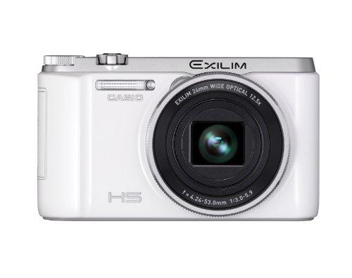 CASIO EXILIM デジタルカメラ ハイスピード 快適シャッターホワイト EX-ZR1000WE