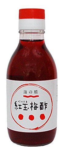 海の精 紅玉梅酢 200ml