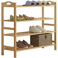 靴ラック4層多機能防塵家庭用靴キャビネット経済的な省スペース60センチメートル木製の靴のラック (サイズ さいず : 70cm)