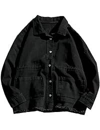 Keaac メンズカジュアルロングスリーブ軽量洗浄ボタンがよいジャケット