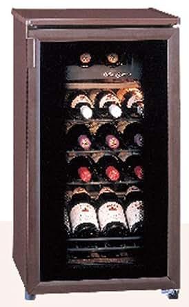 デンソーエース ワインセラー ワイングルメ  【19本収納可能 / 低振動 / 紫外線カット】 WIC-019A-AGB