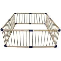 安全フェンス、室内ベビークロウリング幼児フェンス子供の遊びフェンスベビーホームソリッドウッドセーフティフェンス (サイズ さいず : 160 * 160cm)