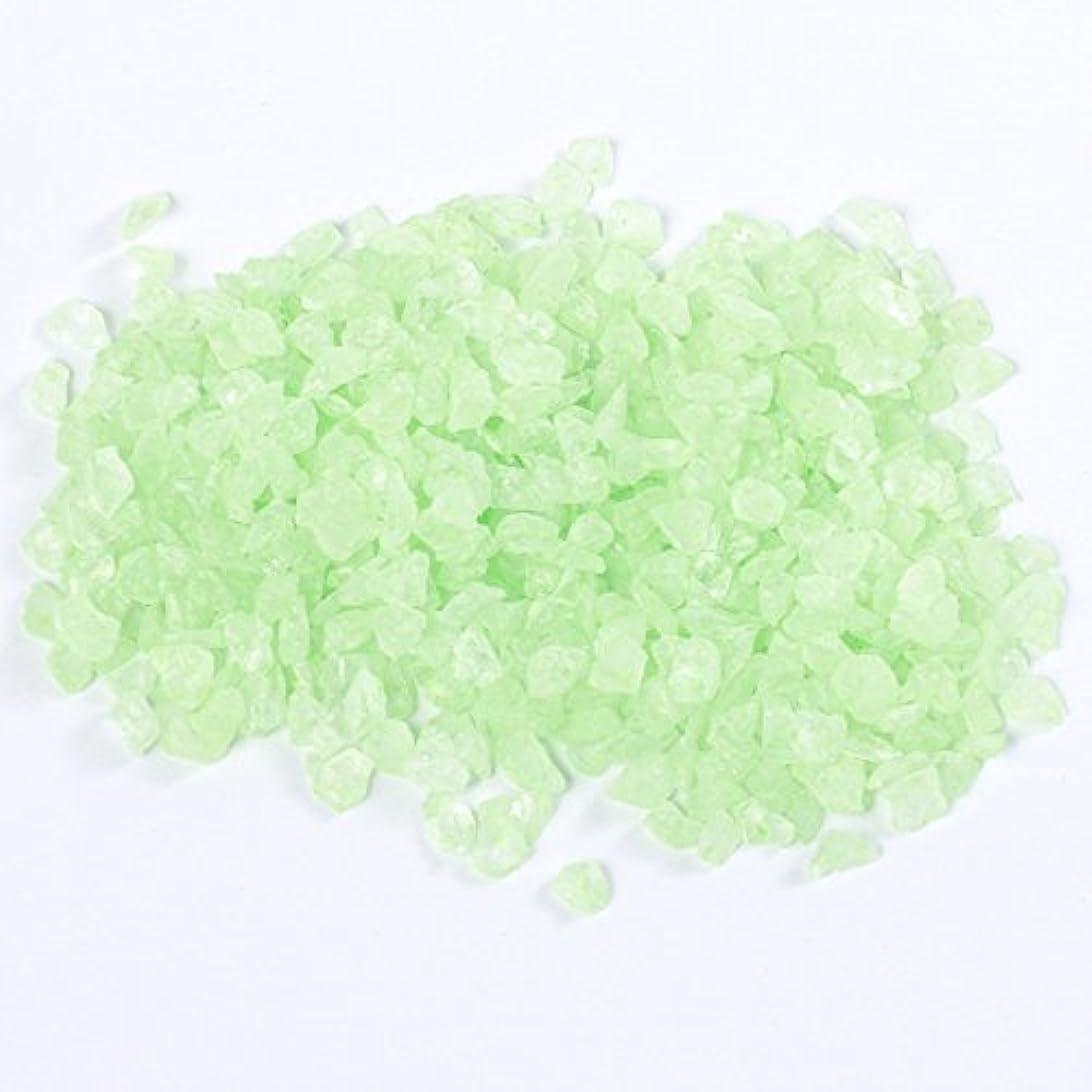 リズミカルな穴弁護士夜光パウダー 緑 グリーン ホログラム 蓄光【ラインストーン77】