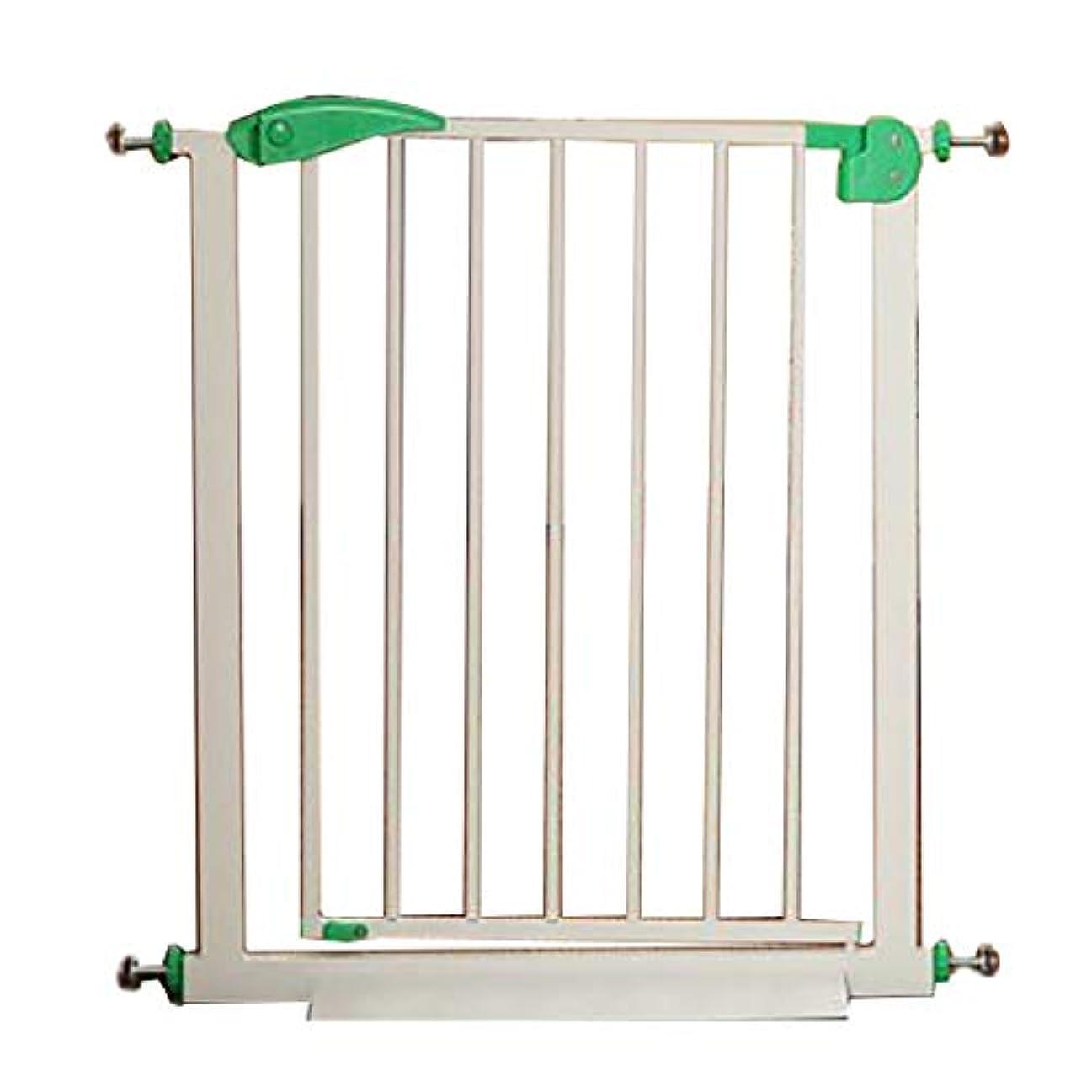 強化開示する百万圧力フィット安全ゲートベビー安全柵ペットセーフティゲート、階段プロテクターバルコニー、階段レール (Color : Green, Size : 57-64cm)