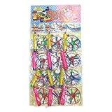 【台紙玩具】3枚ヘリコプター (12付)  / お楽しみグッズ(紙風船)付きセット