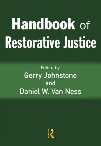Download Handbook of Restorative Justice 1843921502