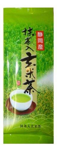 銘葉 抹茶入り玄米茶 200g