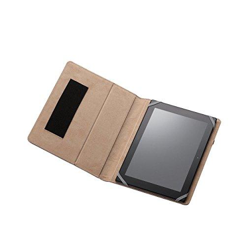 エレコム 8.5〜10.5インチ汎用タブレットケース ファブリック /ブルーTB-10FCHBU1個