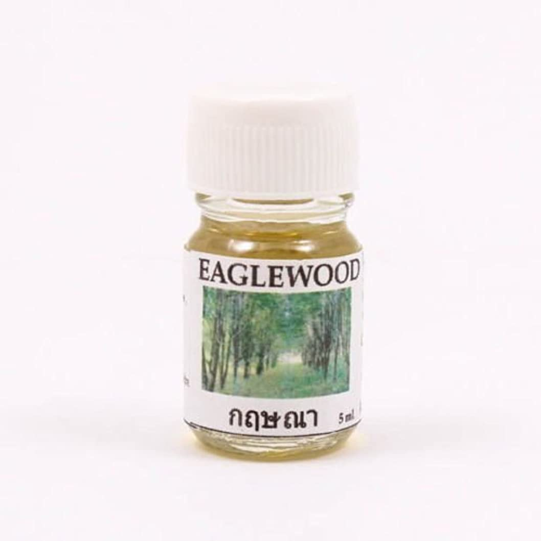 コンクリートへこみ置くためにパック6X Eagle Wood Aroma Fragrance Essential Oil 5ML. Diffuser Burner Therapy
