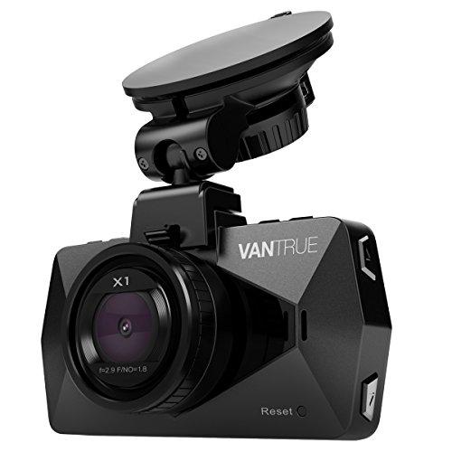 ドライブレコーダー VANTRUE X1 1080P フル HD ドラレコ 1200万画素 駐車監視 ドライブ レコーダー HDR 2.7インチLCD 170度広視野角 常時録画 動体検知 G-センサー 駐車モード 暗視機能搭載