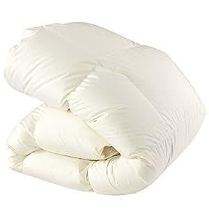 SNOWMAN 羽毛布団 シングル ホワイトダックダウン90% ダウンパワー350dp以上 パワーアップ加工 ダウンプルーフ加工 抗菌・防臭加工 掛け布団 シングル かけふとん 冬用 羽毛 掛け布団 ふんわり暖かい