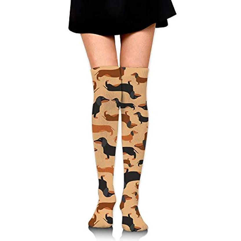 スペインヒントプレートMKLOS 通気性 圧縮ソックス Breathable Thigh High Socks Over Exotic Psychedelic Print Compression High Tube Thigh Boot Stockings...
