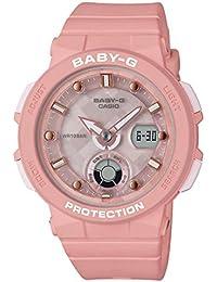 [カシオ] 腕時計 ベビージー BEACH TRAVELER BGA-250-4AJF レディース ピンク
