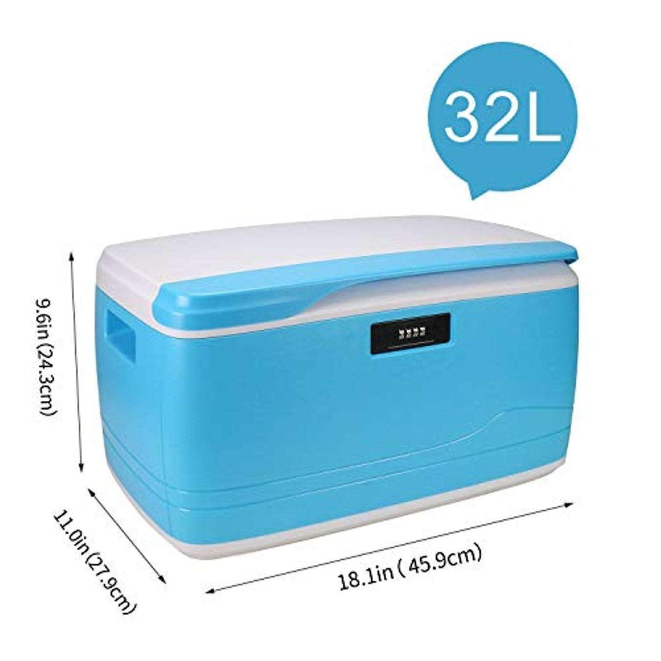 母性妻キャンディー32L収納ボックス 家庭用またはオフィス用 ロック可能および積み重ね可能、持続的な衝撃、熱および化学薬品 番号コード付きロックを特長とする安全な保管容器