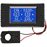 AC Current Voltage Amperage Power Energy Panel Meter LCD Digital Display Ammeter Voltmeter Multimeter with Split Core Current