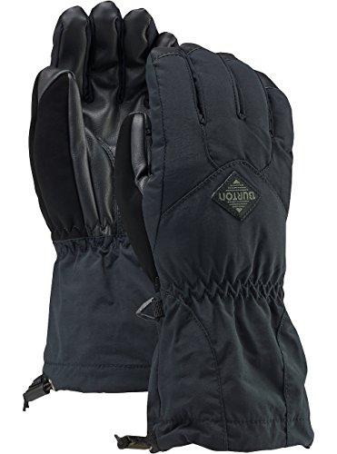 Burton(バートン) スノーボード グローブ ジュニア キッズ YOUTH PROFILE GLOVE Lサイズ True Black 151871 手袋 防水 透湿 タッチスクリーン操作可