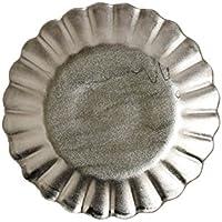 有田焼 プラチナ 菊型小皿 11cm アリタポーセリンラボ ars1796