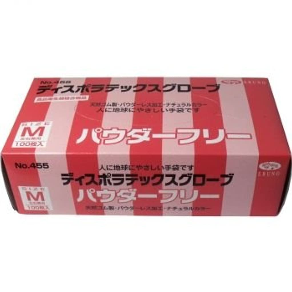 クローン光のオートマトンディスポ ラテックスグローブ(天然ゴム手袋) パウダーフリー Mサイズ 100枚入 「2点セット」