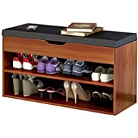 ALUP- 靴ラック/靴キャビネットシンプルな近代的なホームシューズベンチコンソールキャビネット実用的なストレージデザイン通気性快適ロード80kgサイズ:長さ80cm *幅30cm *高さ45cm (色 : C)