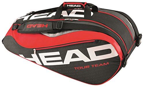 HEAD(ヘッド) テニス ラケットバッグ ツアーチーム・9R・スーパーコンビ ブラック 283226