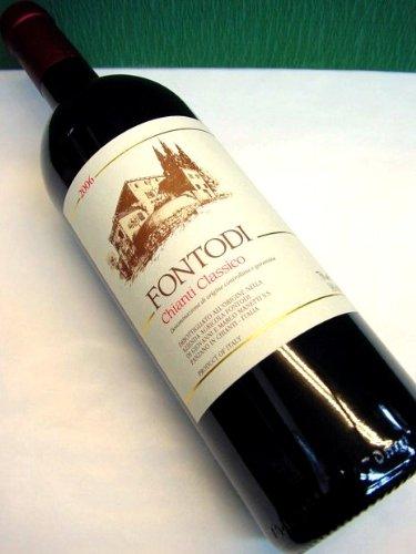 キャンティ・クラシコ DOCG フォントディ 750ml イタリア、トスカーナ、赤ワイン