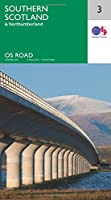 Southern Scotland & Northumberland (OS Road Map)
