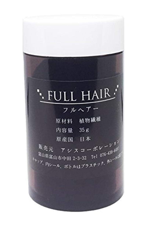 一方、改革代表してフルヘアー 35g ブラック 増毛パウダー 薄毛隠し 円形脱毛症に