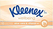 KLEENEX Facial Special Care Tissues With Aloe Vera and Vitamin E, 1 Box of 95 tissues