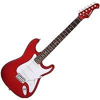 Legend エレキギター LST-Z CACA キャンディアップルレッドマッチングヘッド ソフトケース付