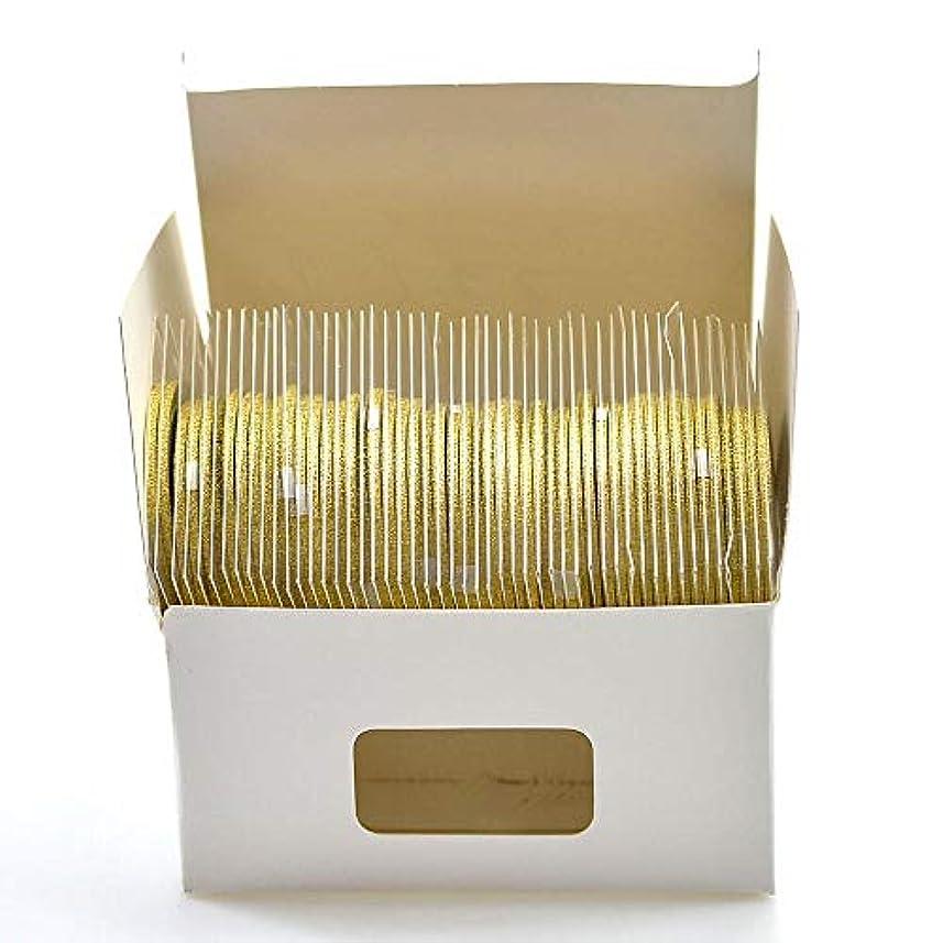 定説売上高特派員SUKTI&XIAO ネイルステッカー 2Mm 50ロールネイルテープ輝くストライプラインアート装飾マニキュアストライプゴールドシルバーキラキラ、ゴールド