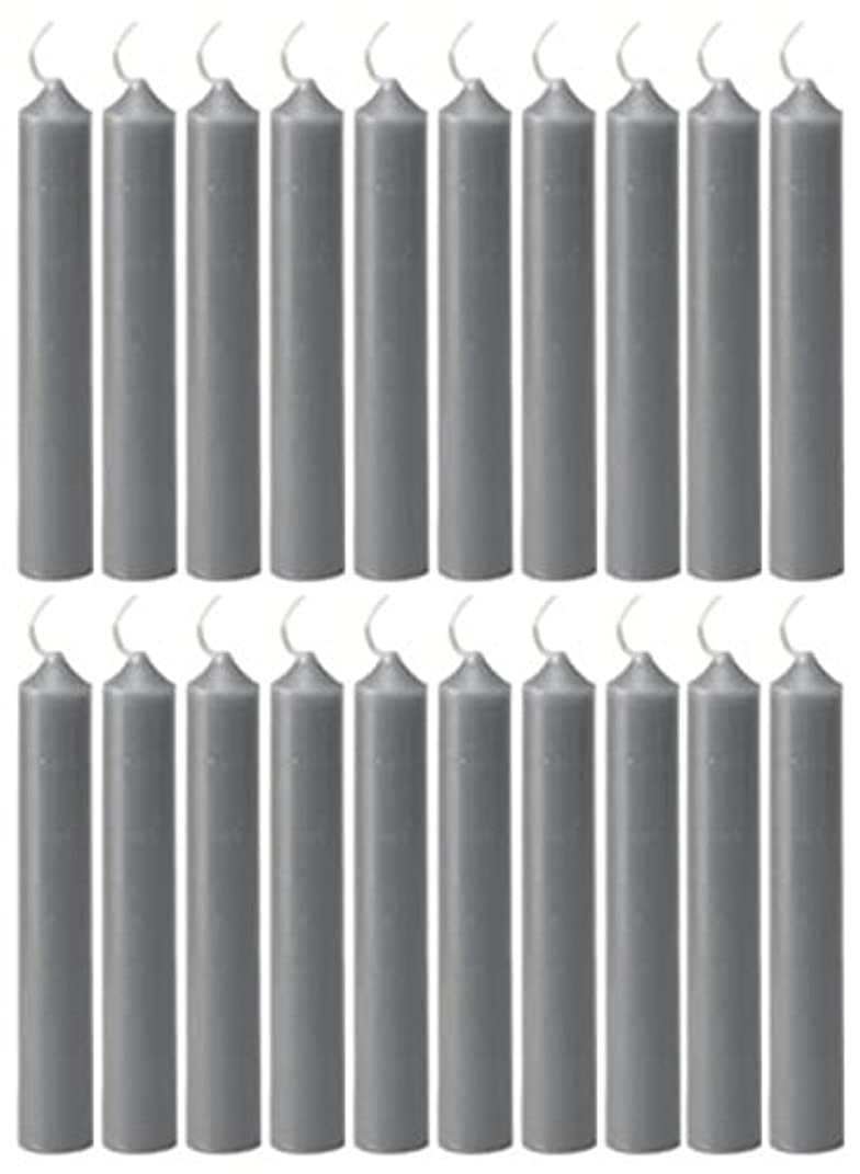 タールコーデリア患者(Gray) - Biedermann & Sons 20 Count Chime Candles, Grey
