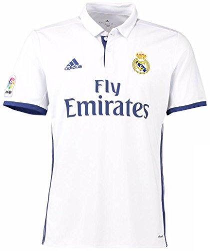 adidas(アディダス) レアル・マドリードCF ホームユニフォーム 2016/17 [4 セルヒオ・ラモス] [サイズ:インポートM] Real Madrid CF Home Shirt 2016/17 [4 Sergio Ramos] [Size:Import M] [並行輸入品]