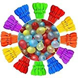 Self-Sealing Water Balloons Instant Balloons Easy Quick Fill Balloons with in 60 Second Splash Fun Rapid-Filling for Kids and