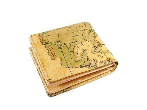 あなただけの世界地図柄 かっこいい小銭入れショートウォレット
