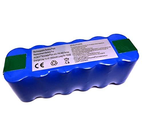 ルンバ用バッテリー 長時間稼動 1年保証 ルンバ500 600 700 800 900シリーズ対応 【Orange Line】【互換品】