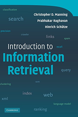 Introduction to Information Retrievalの詳細を見る