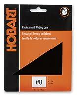 Hobart 770219 Welders Weld-It Shaded Lens, Shade #8, Standard Size