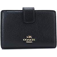 コーチ アウトレット (二つ折り財布) COACH 財布 レディース F53436 ウォレット (ブラック)