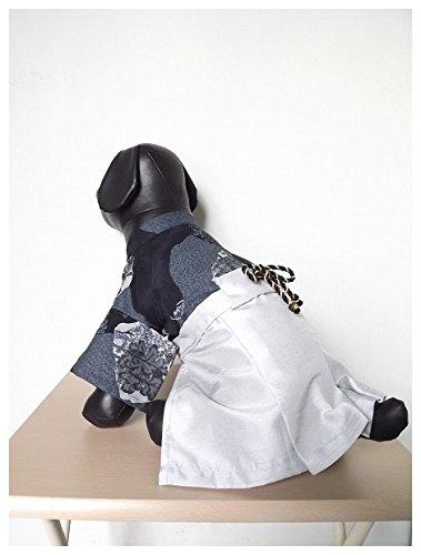 【犬服・受注生産】渋可愛い!和柄袴(はかま)#着ぐるみ #コスプレ #年賀状 #写真撮り #初詣 #お正月 #新年 #2017年 (L)
