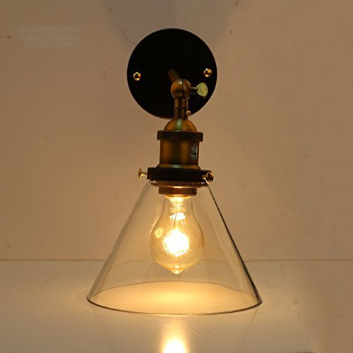 RoomClip商品情報 - Fuloon 照明壁掛け照明器具とブラケット光レトロ照明器具アンティークレトロスタイリッシュクール壁 ブラケット