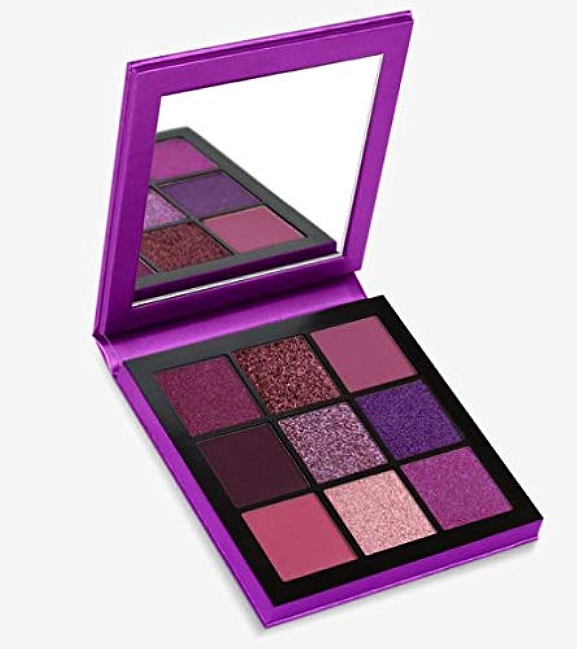 最大化する奇跡的なラップHudabeauty Obsessions Eyeshadow Palette Amethyst アイシャドウパレット