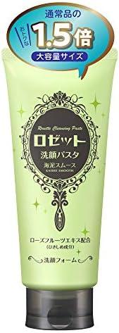 【Amazon.co.jp 限定】ロゼット 洗顔パスタ 海泥スムース 180g (大容量 通常の1.5倍) 洗顔フォーム 毛穴