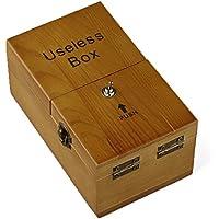 SAGULU 役に立たないボックス Useless box ボックスが自分自身のスイッチをオフ 放っておいてマシン 完全組立済み リラックスさせる一品 ドッキリおもちゃ